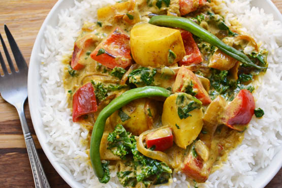 Easy Vege Curry