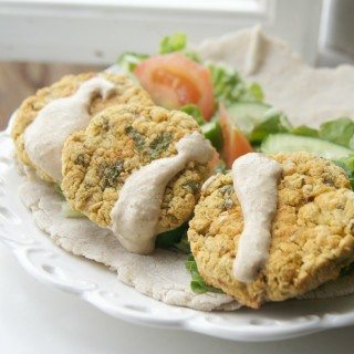 Garlic Spiced Falafel