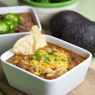Hearty Vegan Taco Soup