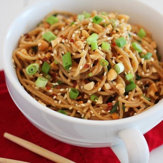 Asian Style Soy Noodles