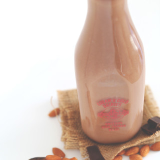 Homemade Chocolate Almond Milk