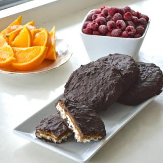 Chocolate and Peanut Rice Cakes