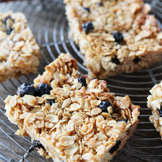 Coconut and Blueberry Granola Bars