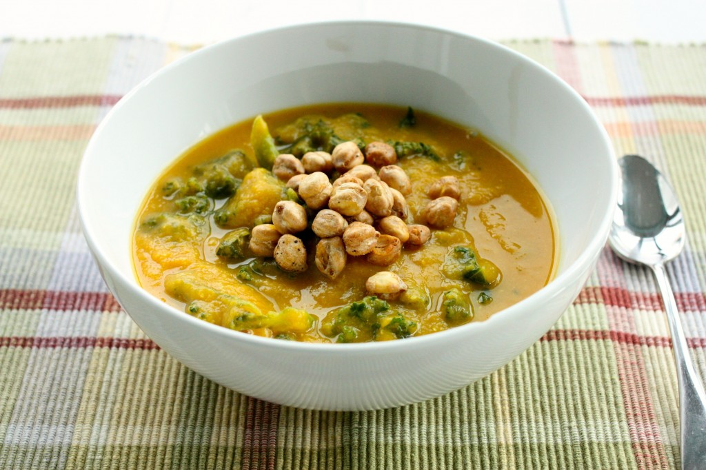 Curried Lentil and Butternut Soup