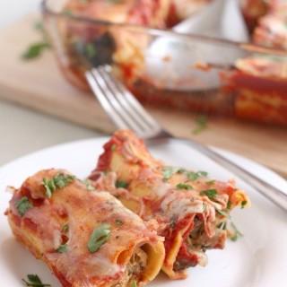 Egg Plant Lasagna Rolls