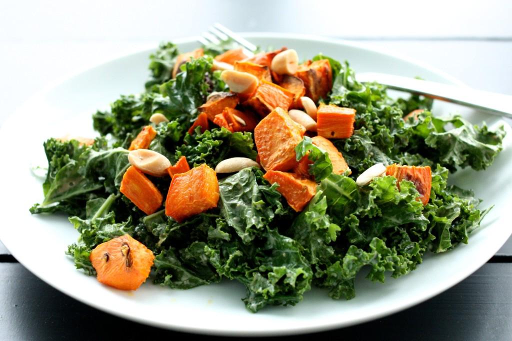 Kale and Peanut Salad