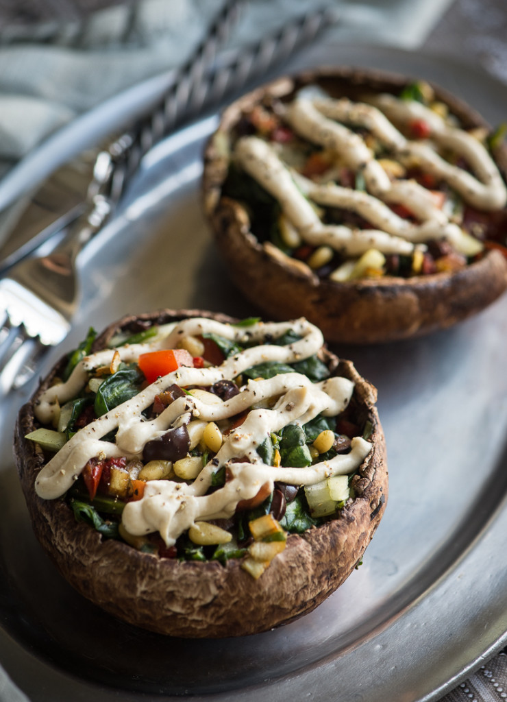 Stuffed Portobella Mushrooms