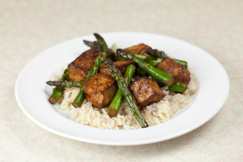 Asparagus and Tofu Stirfry