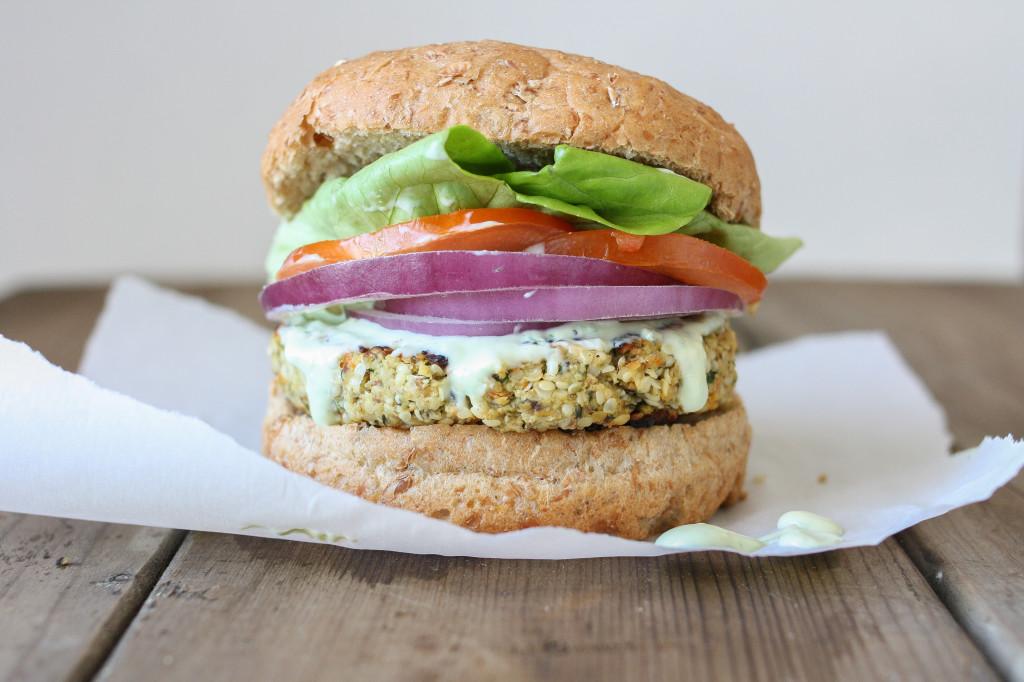 Cauliflower Hemp Burger
