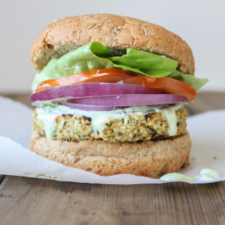 Cauliflower Hemp Burger