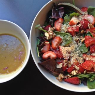 Strawberry Summer Salad with Shallot Vinaigrette