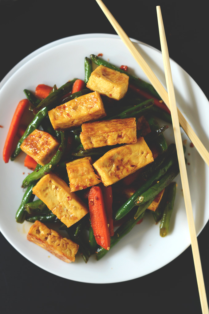 Tofu Stir Fry - The Vegan Food Blog