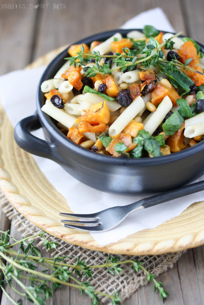 Butternut Squash and Quinoa Pasta Bowl