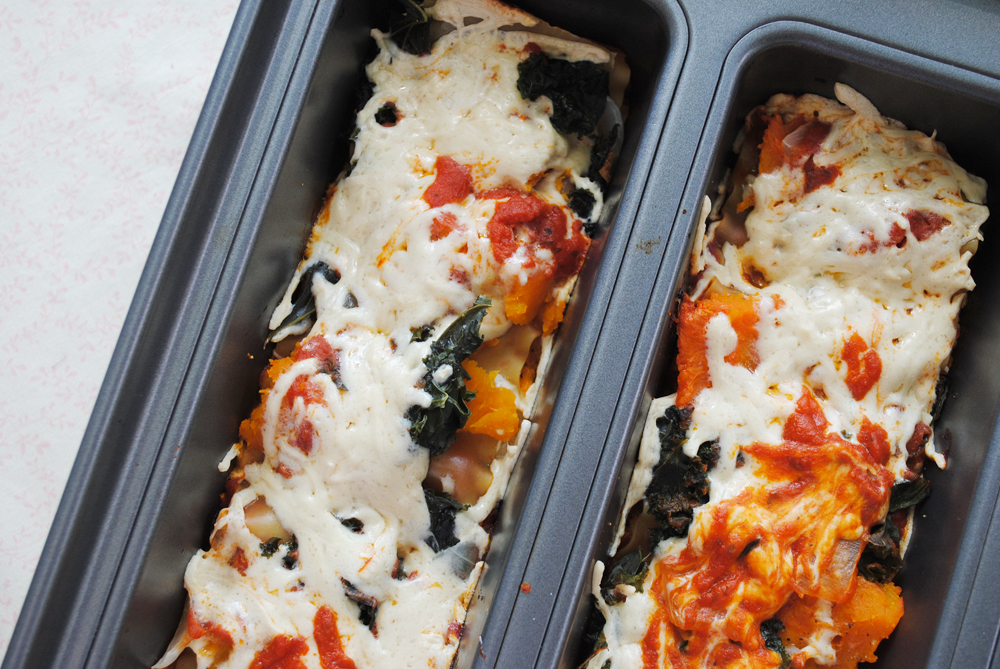 Kale and Butternut Lasagna