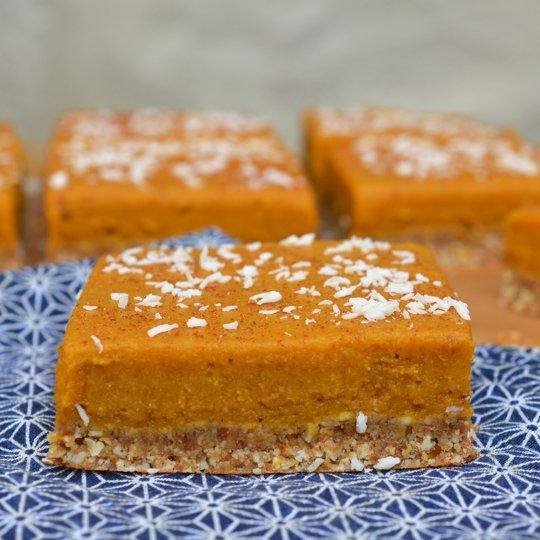 Vegan and Gluten-Free Chai-Spiced Pumpkin Bars