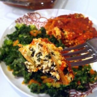 Skinny Vegan Lasagna