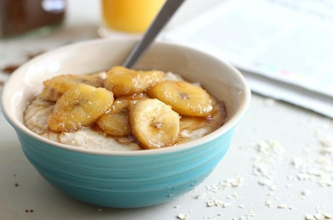 Brown Sugar Banana and Coconut Oats