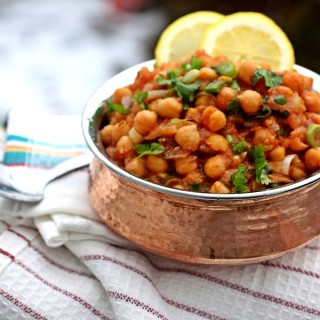 Slow Cooked Chana Masala