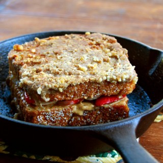 Vegan Stuffed French Toast