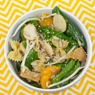 Asian Style Spinach Salad