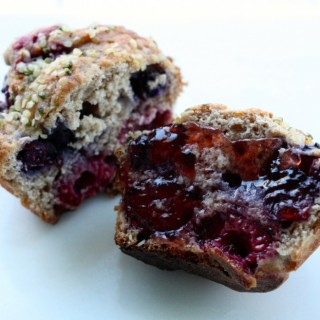 Hemp and Berry Muffins