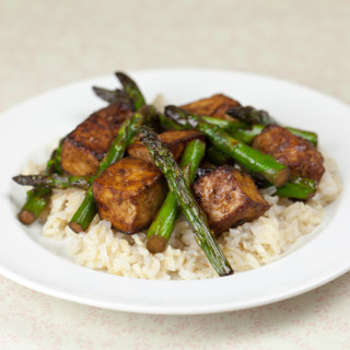 Asparagus and Tofu Stirfry