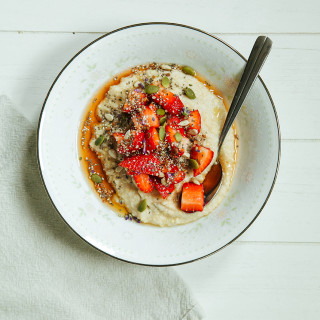 Vanilla Bean Porridge with Super Seeds