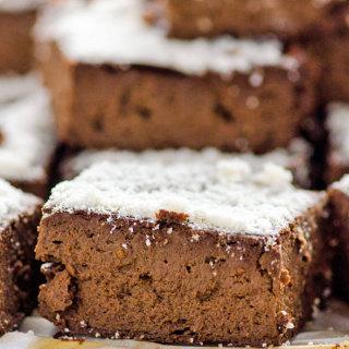 Vegan Protein Fudge Brownies